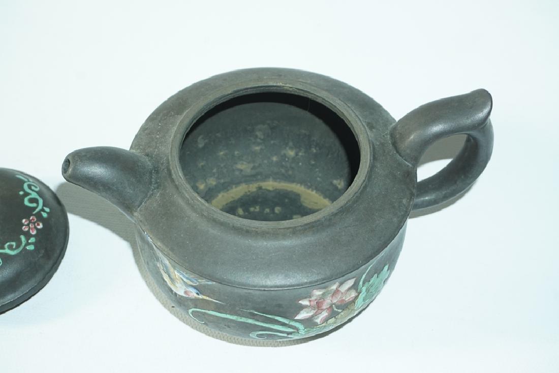 Three Chinese Teapots - 3