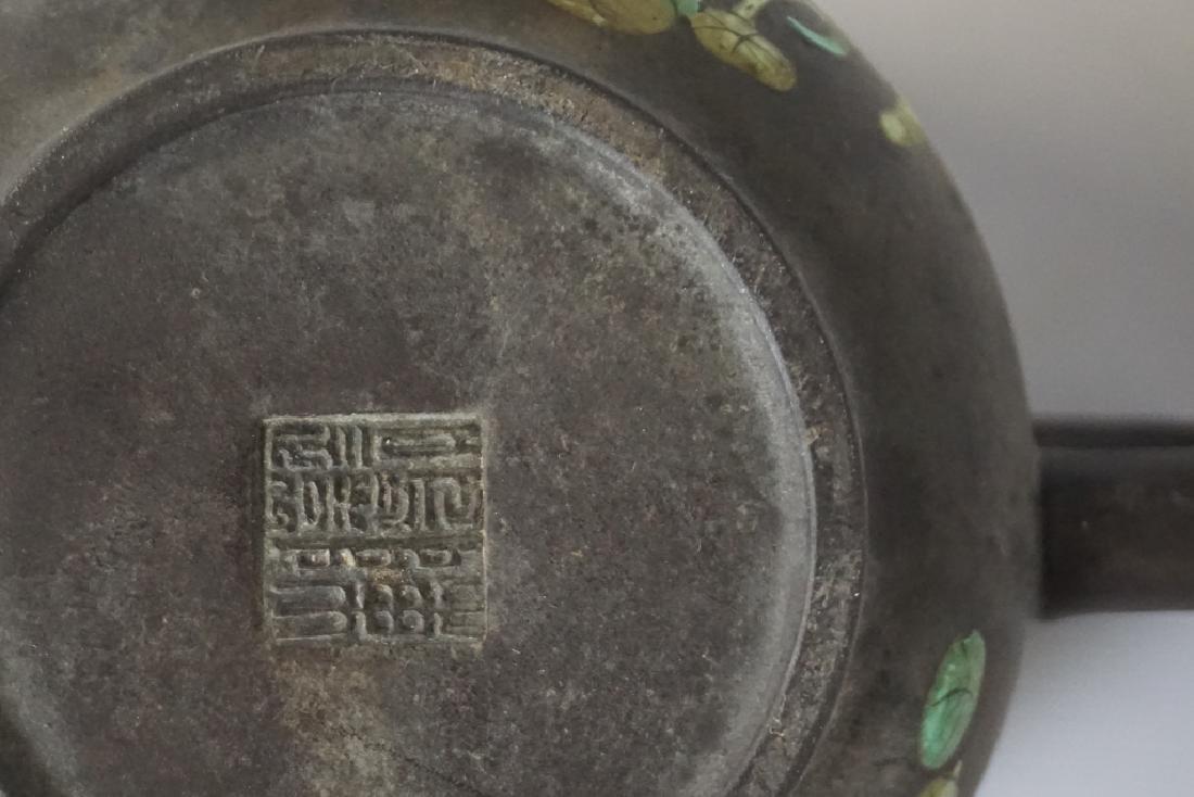 Three Chinese Teapots - 5