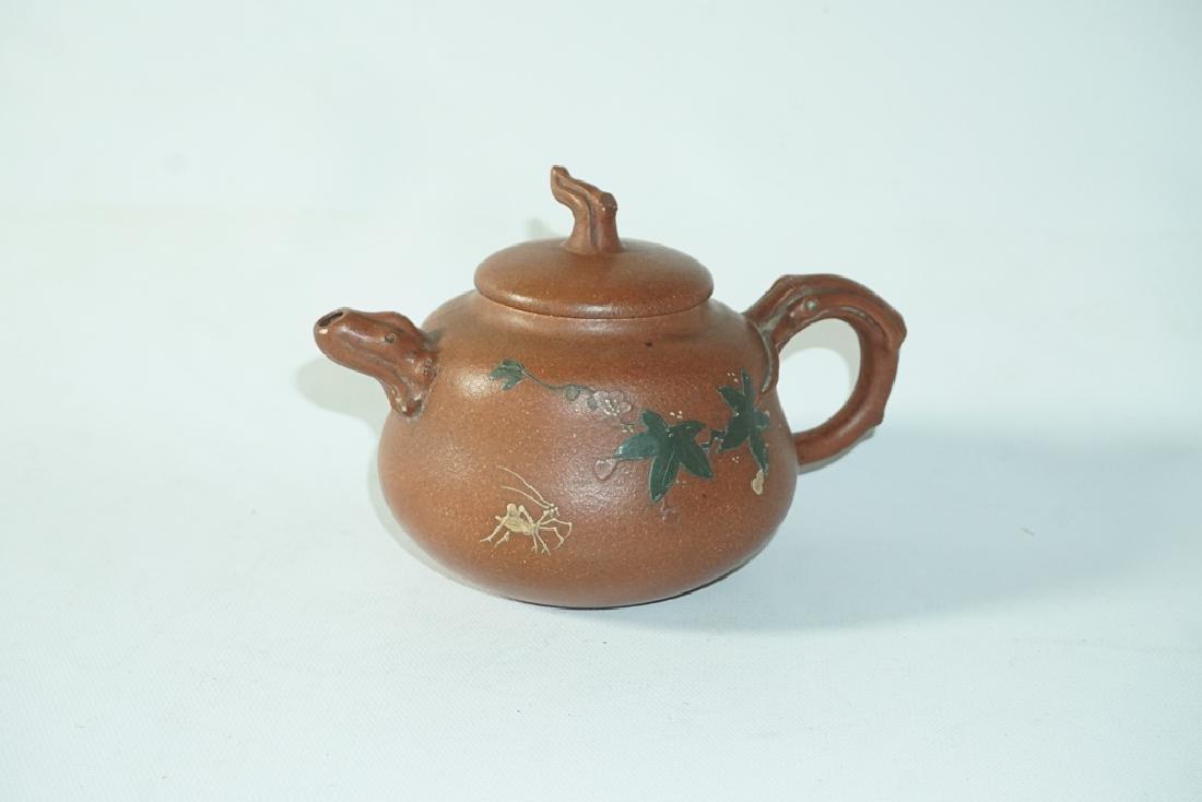 Three Chinese Teapots - 6