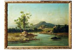 G Maresca Oil on Canvas Italian School