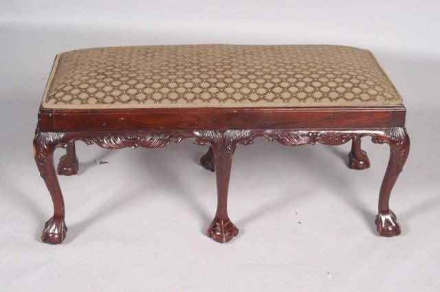 8: REPRODUCTION VICTORIAN BENCH: