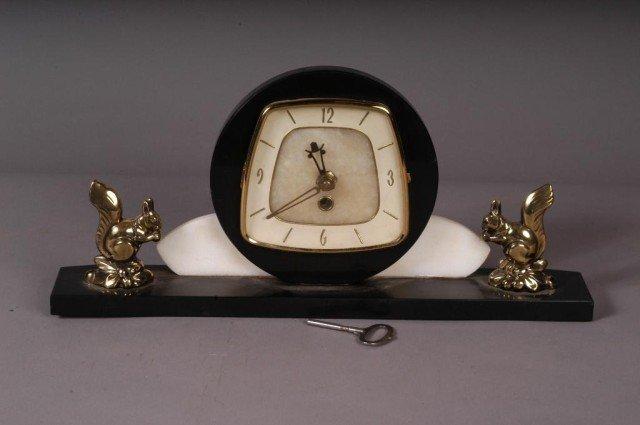 15: 1930S DECO CLOCK:
