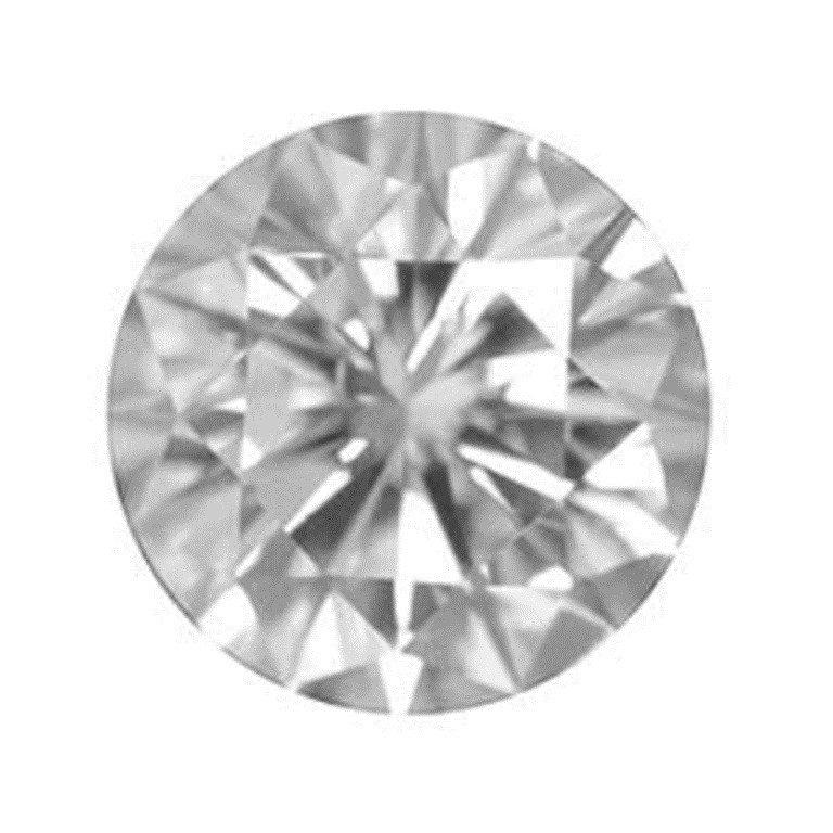 75: 5.9 CARAT ROUND DIAMOND: