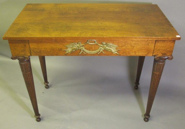 EMPIRE STYLE LIBRARY TABLE: