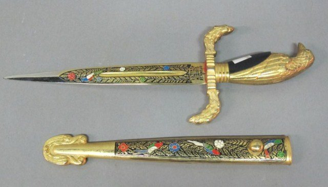GILT EAGLE DAGGER: