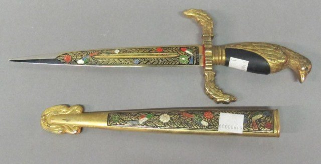 GILT EAGLE DAGGER: - 2