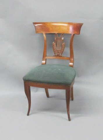 EMPIRE STYLE SIDE CHAIR: