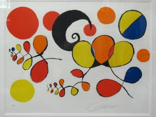 ALEXANDER CALDER (AMERICAN, 1898-1976): - 2