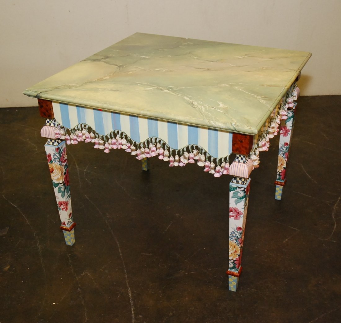 MACKENZIE-CHILDS GAMES TABLE