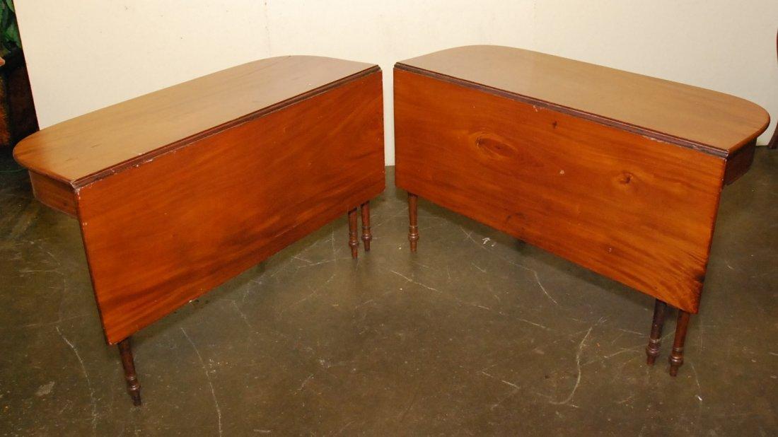 PAIR OF DROP LEAF TABLES