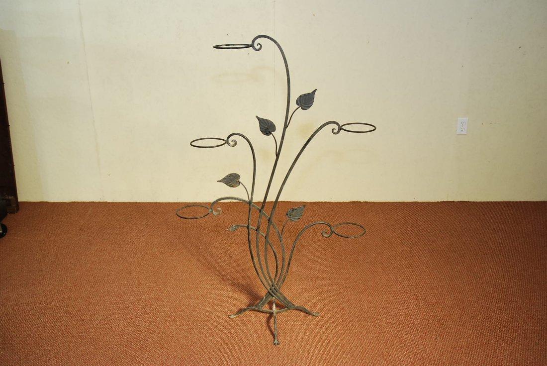 SALTERINI WROUGHT IRON PLANT STAND