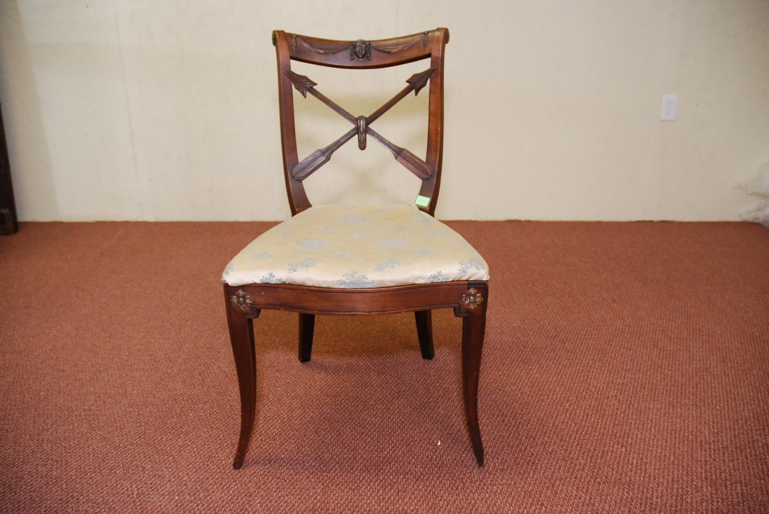 19TH CENTURY CARVED SIDE CHAIR