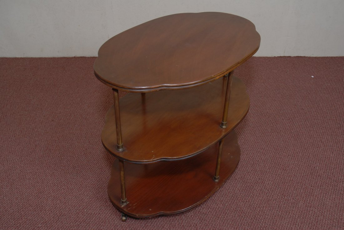 THREE TIER FRENCH TROLLEY TABLE
