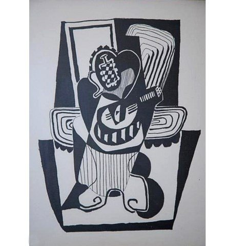 PABLE PICASSO 1924 NATURE MORTE FOR VOLLARD