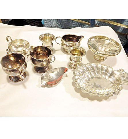 GROUP LOT OF SILVER