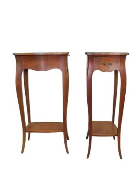 PR FRENCH PROVINCIAL CANDLE STANDS
