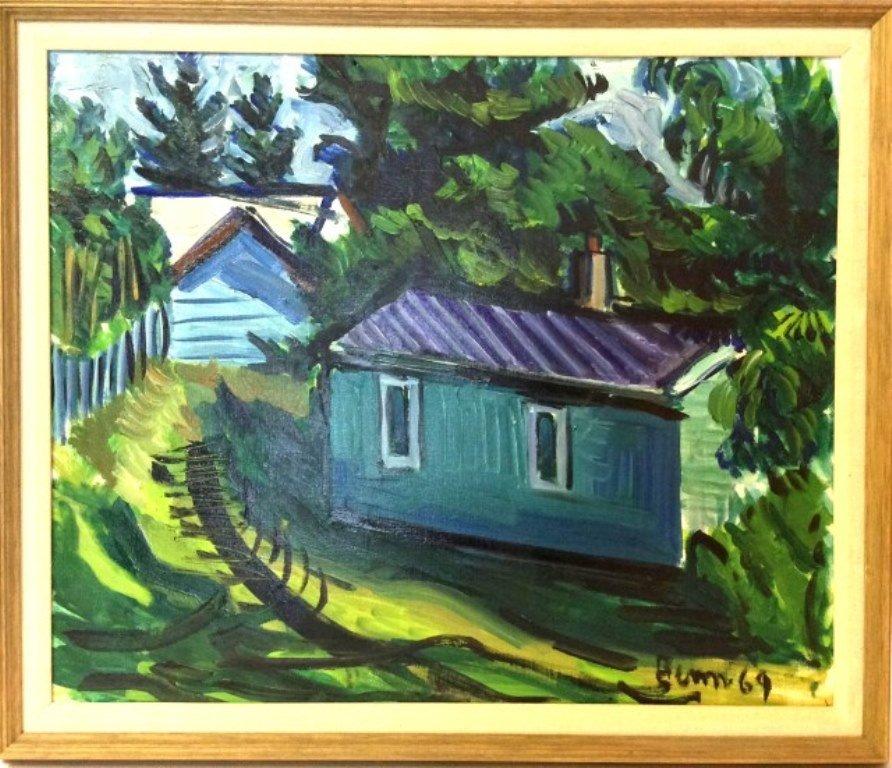 Benn, Ben (1884-1983, American) Landscape