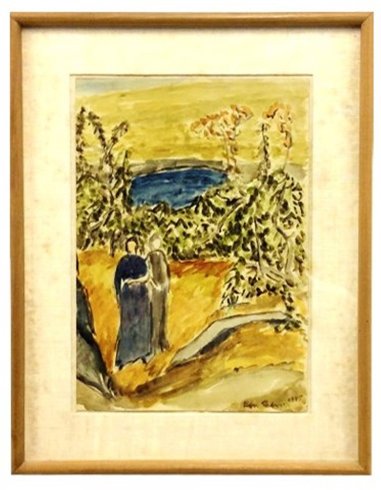 Benn, Ben (1884-1983, American) Watercolor