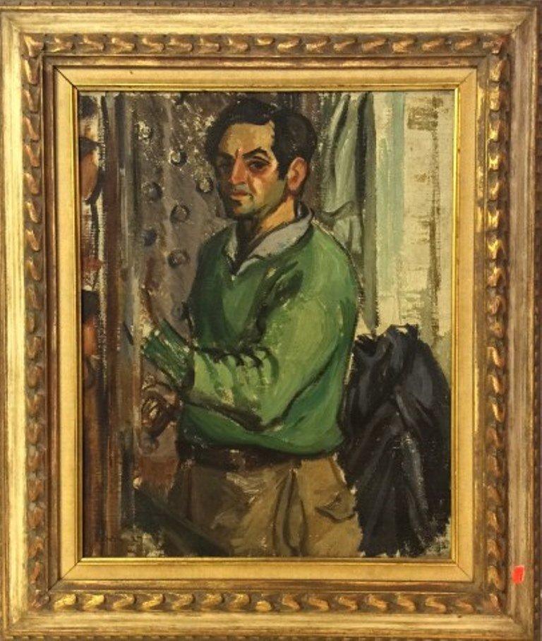 Benn, Ben (1884-1983, American) Self Portrait