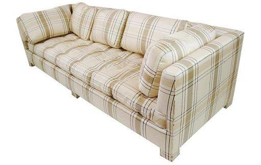 Cocheo Brothers Tan Sofa For Billy Baldwin