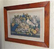 Large Currier  Ives American Choice Fruits
