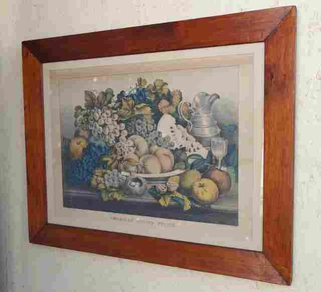Large Currier & Ives American Choice Fruits
