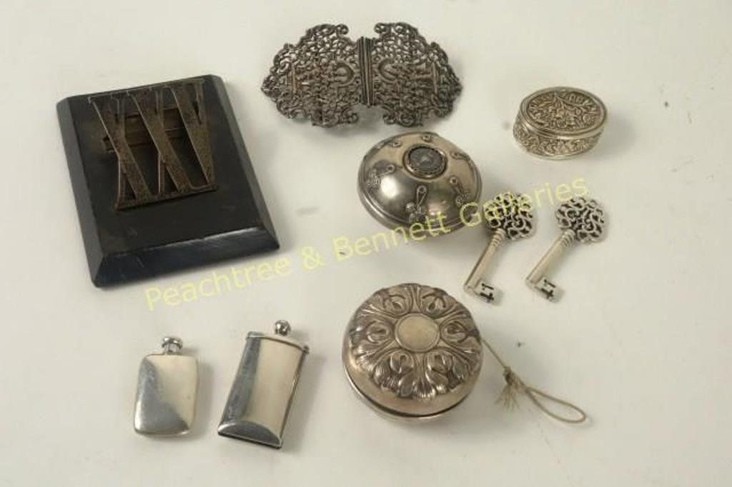 Group Eight Sterling Items Tiffany Gorham