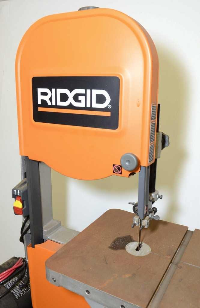 RIDGID 15-Amp Band Saw with Stand - 2