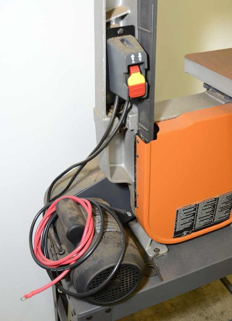 RIDGID 15-Amp Band Saw with Stand - 4
