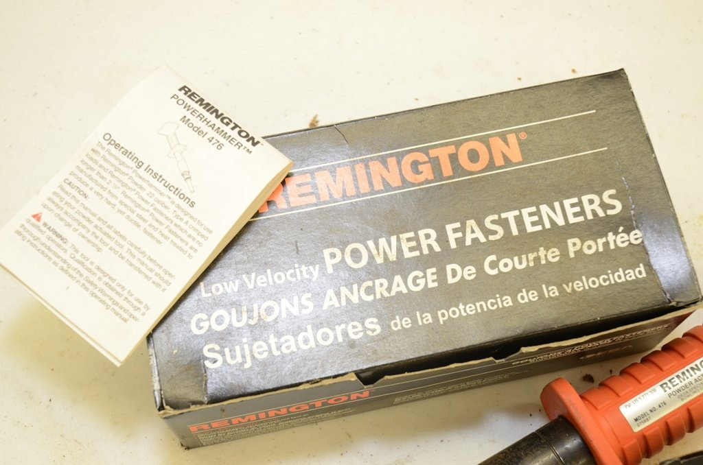 Remington Power Hammer Model 476 Power Actuated To