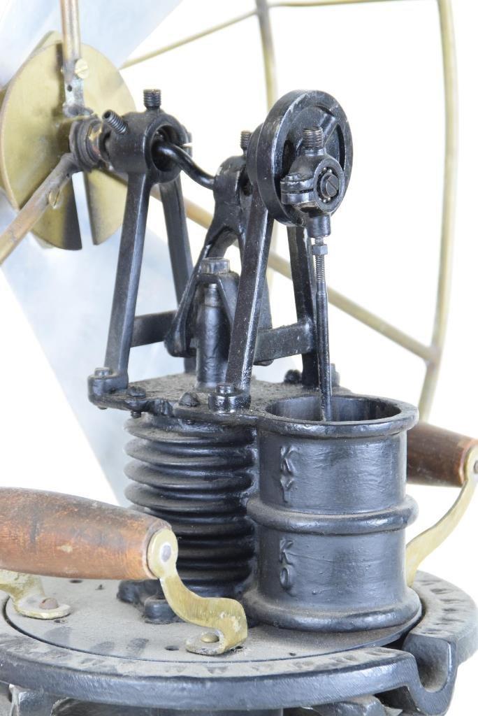 Antique Kerosene Fan - 6