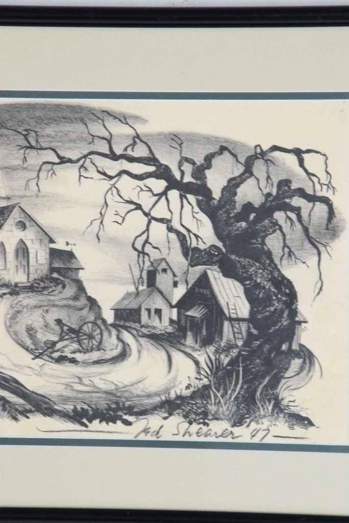"Ted Shearer Signed ""Roots"" Print (American, 1947) - 3"