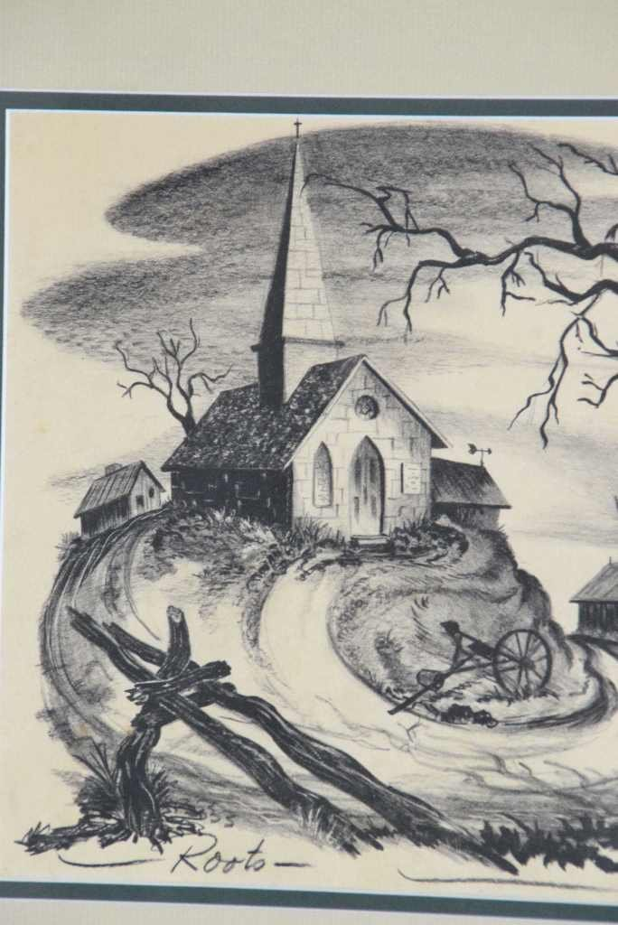 "Ted Shearer Signed ""Roots"" Print (American, 1947) - 4"
