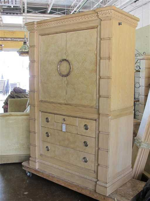 Drexel Heritage Furniture Insignia Cabinet See Sold Price