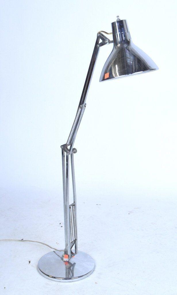 Crhome Mid-century Desk Lamp