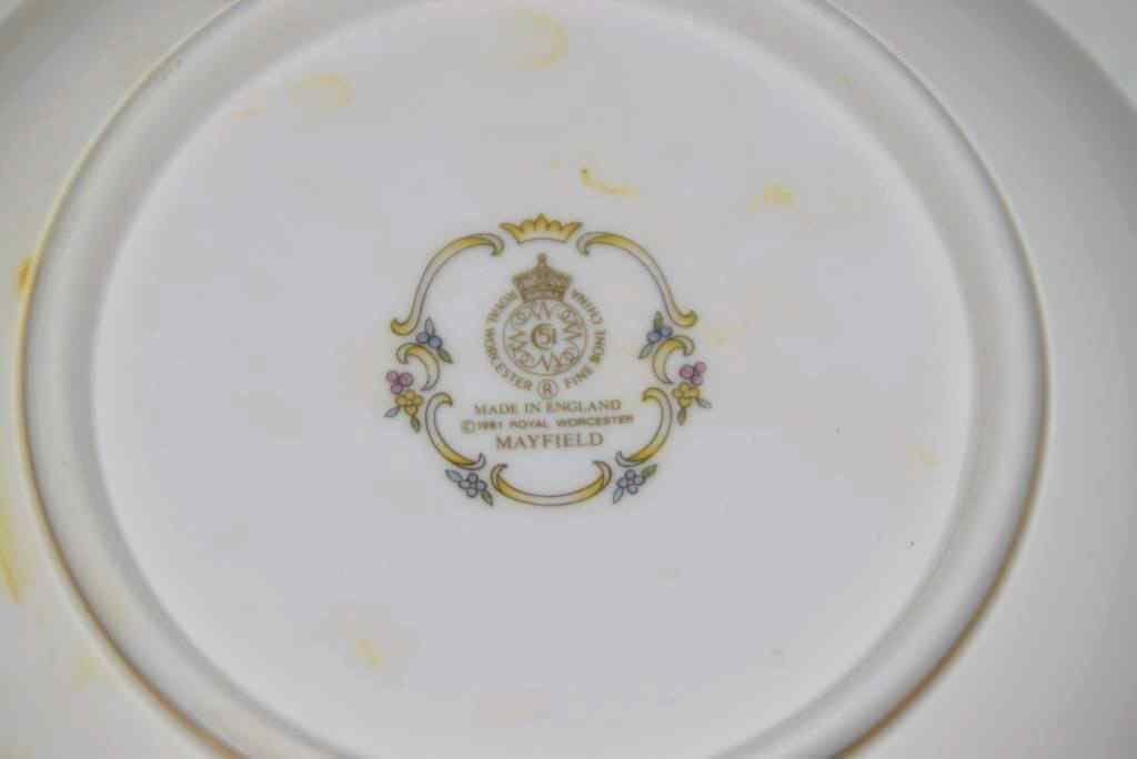 55 pcs Set Royal Worcester Mayfield Bone China - 6