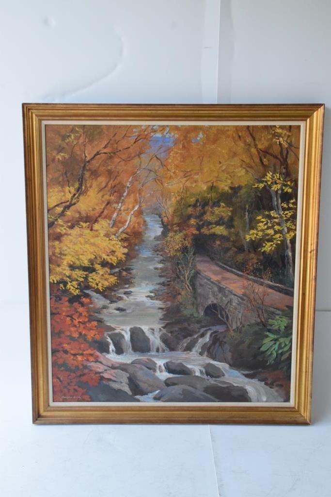 Christopher Murphy (1902-1973 Georgia) Oil Canvas