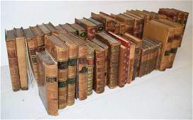 Group 48 Leather Bound and Hardbound Books