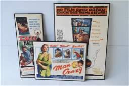 Group of Three Vintage Movie Posters