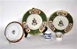 5 Pieces Porcelain Tableware