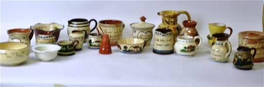 Group 21 Pcs Ceramic Tableware