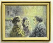 Monroe Reisman 19102004 Oil Painting