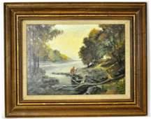 Max Weston Oil Painting