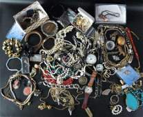 Large Group Lot of Costume Jewelry 60 Pcs