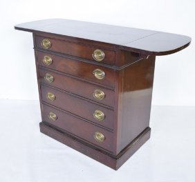 Drexel Mahogany Silver Chest