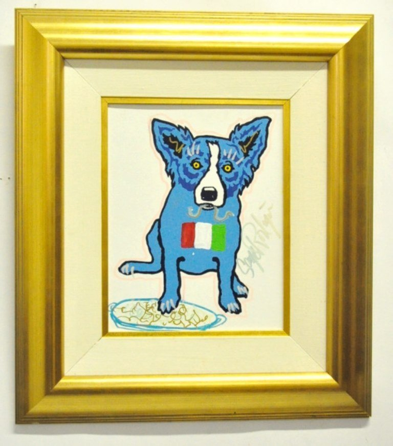 George Rodrigue (1944-2013) Blue Dog