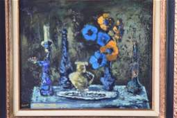 Mid Century Still Life Painting