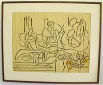 Karl Knaths Drawing