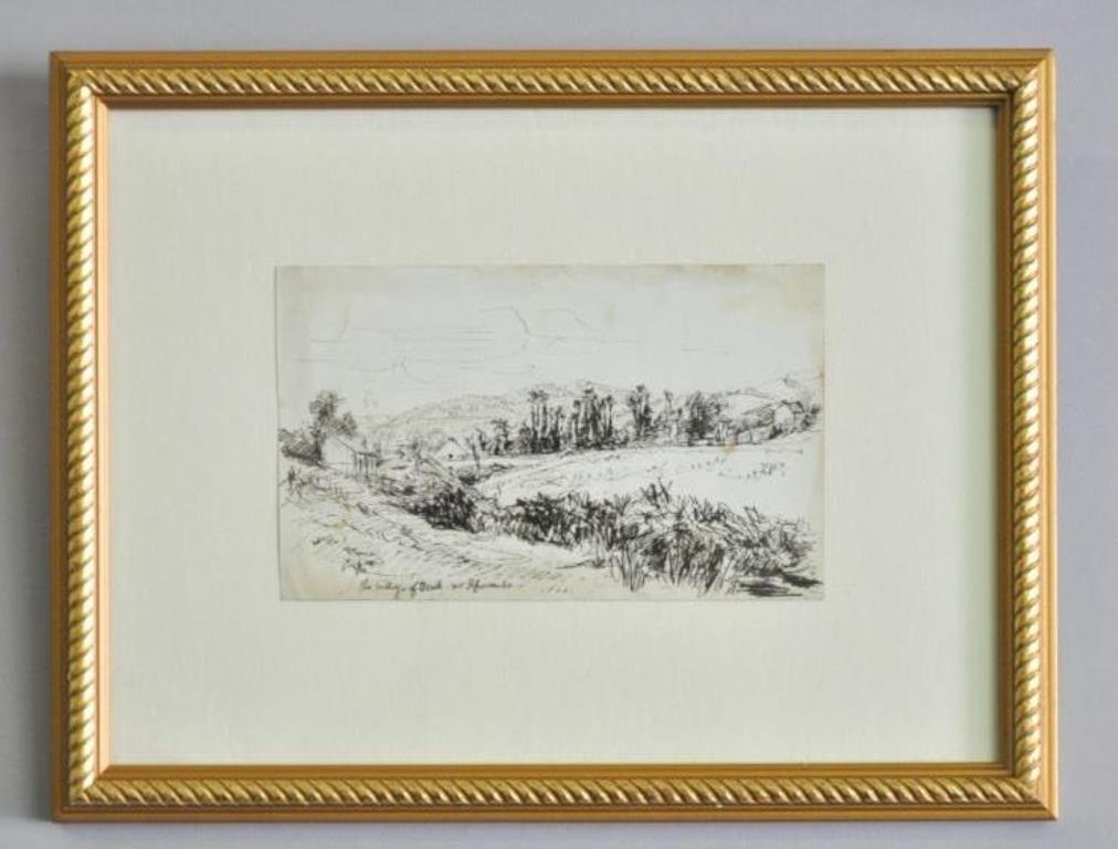 Samuel Palmer (1805-1881) Ink on Paper