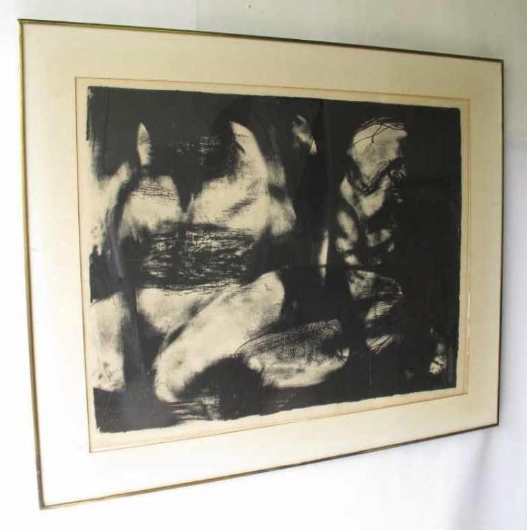 Rico Lebrun (1900-1964) Signed Print